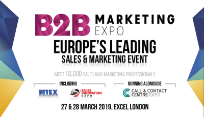 B2B Marketing Expo 2019