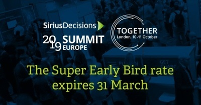 SiriusDecisions Summit Europe 2019
